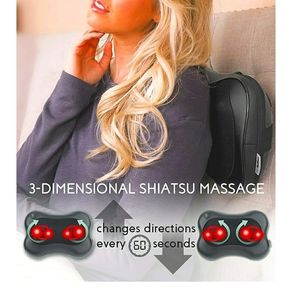 Shiatsu, Massage Pillow with Heat, NEW